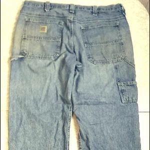Lee Dungarees Carpenter Blue Jeans ~ Men's 36 x 29
